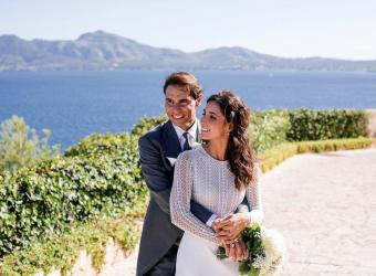 Rafa Nadal y Mery Perelló celebran su segundo aniversario de boda