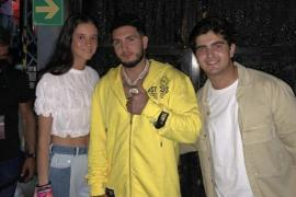 Victoria Federica, Omar Montes y Jorge Bárcenas