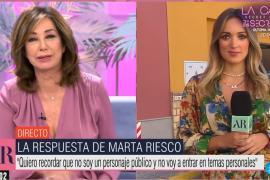 Marta Riesco habla por primera vez sobre la polémica con Antonio David Flores